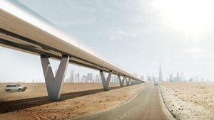 Kereta Sekencang Pesawat Hyperloop