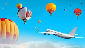 Balon Udara Ganggu Pesawat