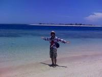 Pantai Gili Kondo, seberang Gili Bidara