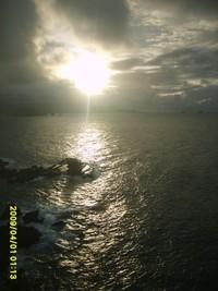 Sunrise di Pantai Papuma