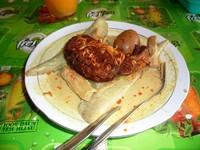 Lontong Orari, kuliner yang tidak boleh dilewatkan