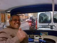 Tukang Bajaj di Paris