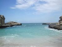 Salah satu sisi Pantai Klayar (Ezra Fetor Cuba Tefa/dtraveler)