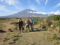 Awal perjalanan menuju puncak Rinjani lewat jalur Sembalun, Lombok