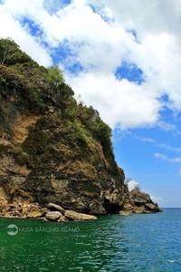 Salah satu sisi pulau (Hendri/dTraveler)