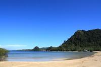 Sisi selatan Pulau Cubadak