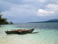 Cantiknya panorama Laut Morotai  (Fanny Kristiadhi /ACI)
