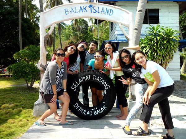 Selamat datang di Pulau Balak