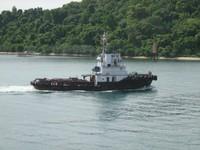 Tug Boat di Selat Sunda