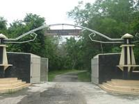 Pintu masuk menuju kawasan konservasi gajah