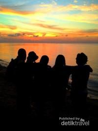 sunrise yang membuat jatuh hati