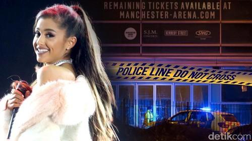 Ledakan di Konser Ariana Grande