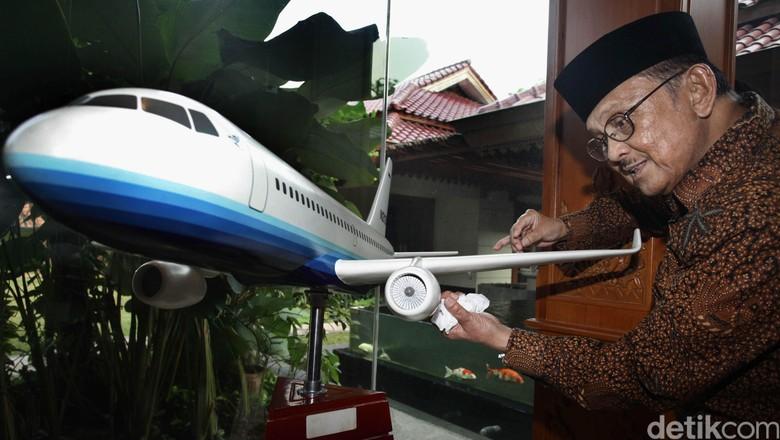 Pesawat R80 Masuk Proyek Strategis Nasional, Ini Kata BJ Habibie