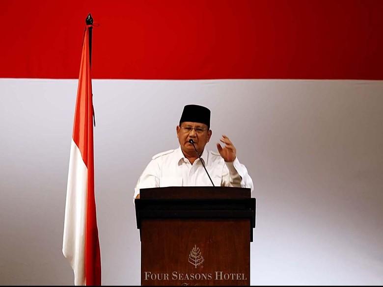Prabowo akan Tegur Waketum Gerindra soal Wajar PDIP Disamakan PKI