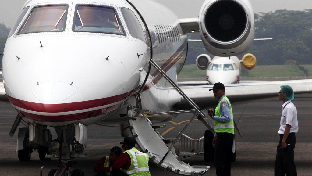 Berapa Biaya Mudik Mewah Pakai Jet Pribadi?
