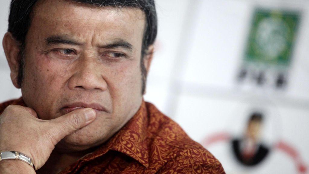 Ridho Ditangkap karena Pakai Sabu, Rhoma Irama Mengaku Sedih