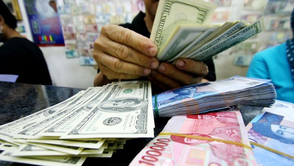 Dolar AS Menguat ke Rp 13.323