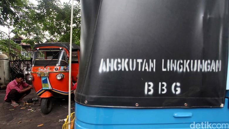 Konsumsi BBG di Indonesia Menurun
