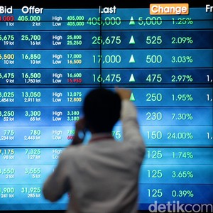 Mengekor Pasar Saham Asia, IHSG Naik 5 Poin