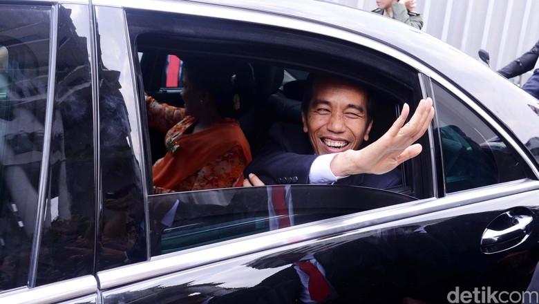Gas Bermasalah, Mercy S-Class Jokowi Ngadat