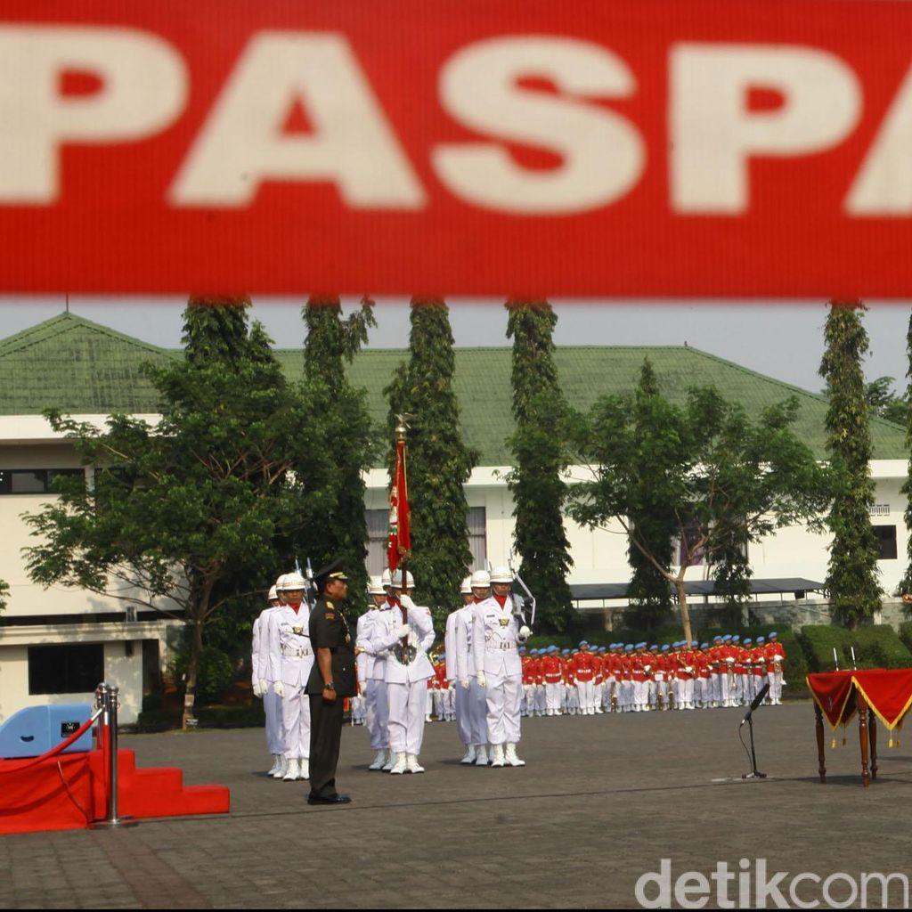 Brigjen Suhartono Jabat Danpaspampres Baru, Mayjen Bambang Dankormar