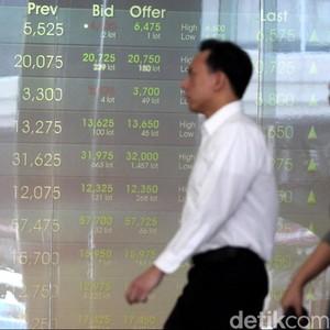 Mengekor Bursa Asia, IHSG Turun ke 5.765