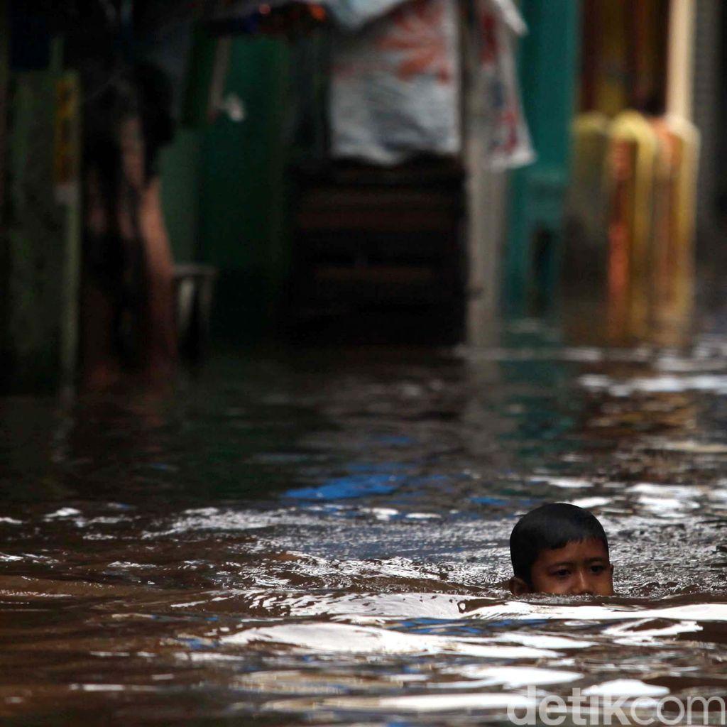BNPB: 654 Bencana di Awal Tahun 2017, Potensi Banjir Meningkat