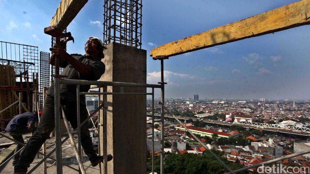 April 2017, Upah Buruh Tani Hingga Bangunan Naik Tipis