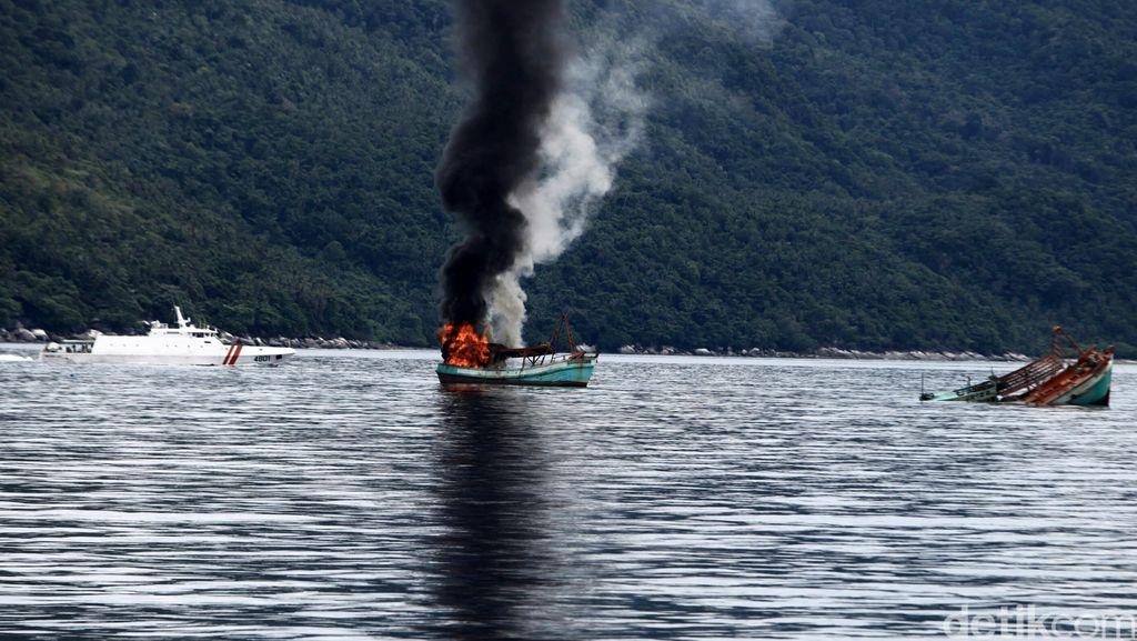 KKP Tangkap 42 Kapal Pencuri Ikan Hingga Akhir Maret