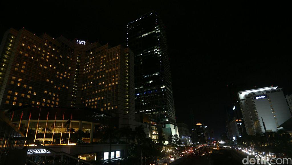 Sambut Earth Hour, Listrik 5 Lokasi di DKI akan Dipadamkan Besok