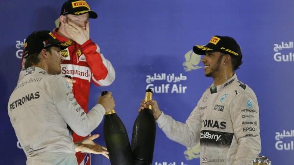 Skenario Rosberg Jadi Juara Dunia di Abu Dhabi