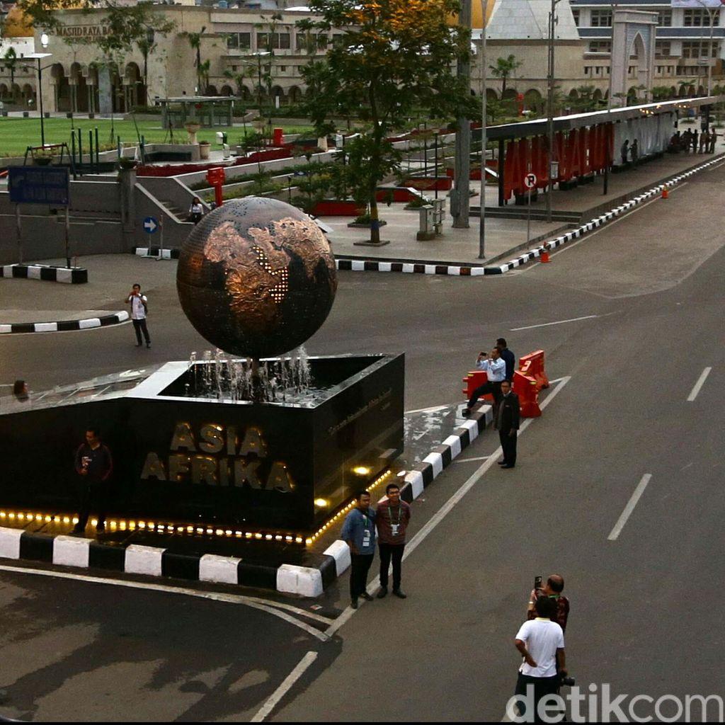 HUT Bandung, Besok dan Minggu Jalan Asia Afrika Ditutup