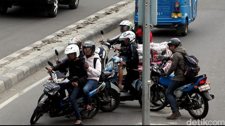 Banyak Motor Lawan Arus, Ini Tanggapan Polisi