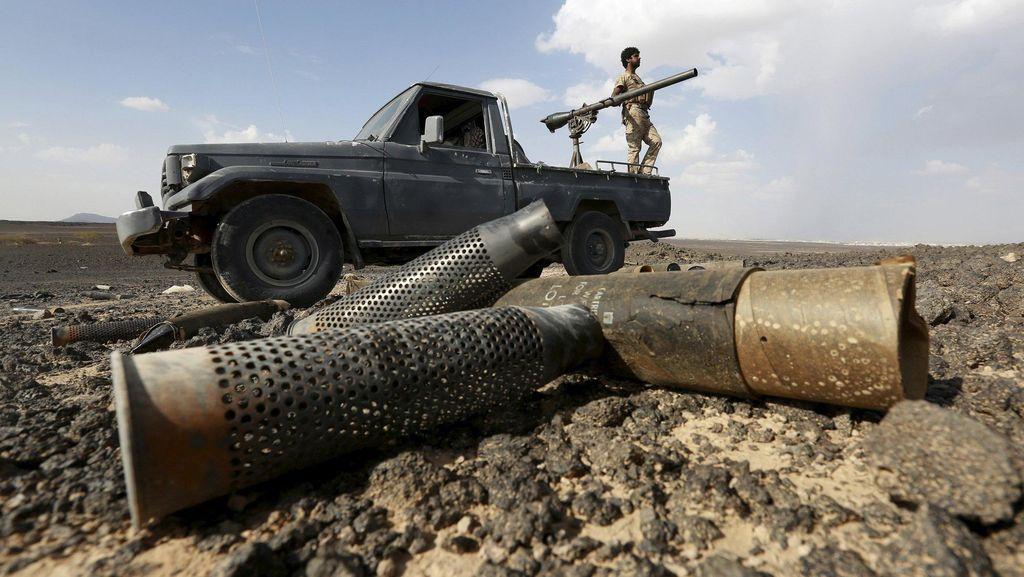 Ancam Ibadah Haji, Rudal Pemberontak Yaman Ditembak di Dekat Makkah