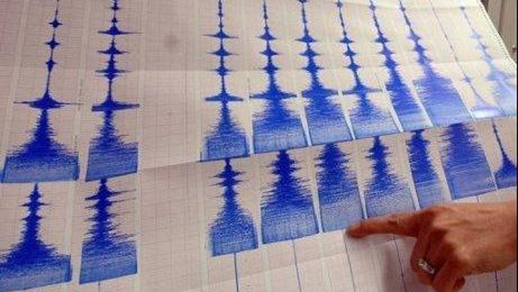 Gempa 4,9 SR Guncang Perairan di Gorontalo Utara
