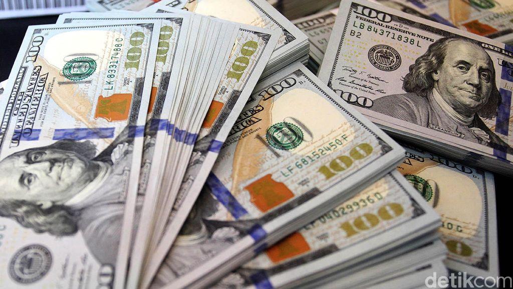 Dolar AS Pagi Ini Melemah ke Rp 13.287
