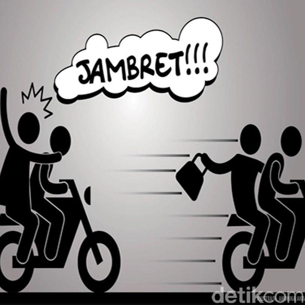 Jatuh dari Motor, Jambret di Semarang Dikeroyok Warga