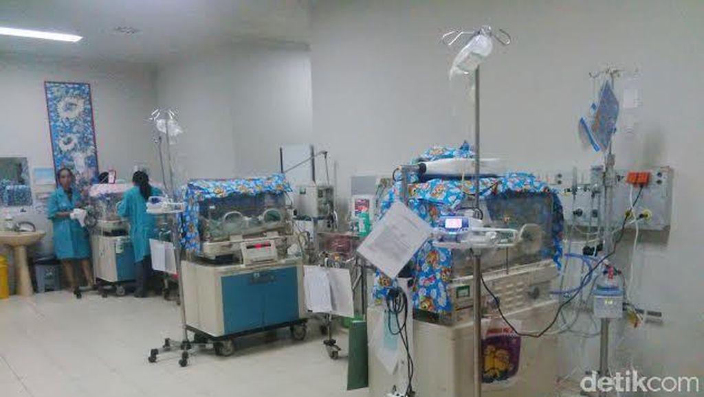 Ini Nama Bayi Kembar Lima Lahir di RS Graha Amerta
