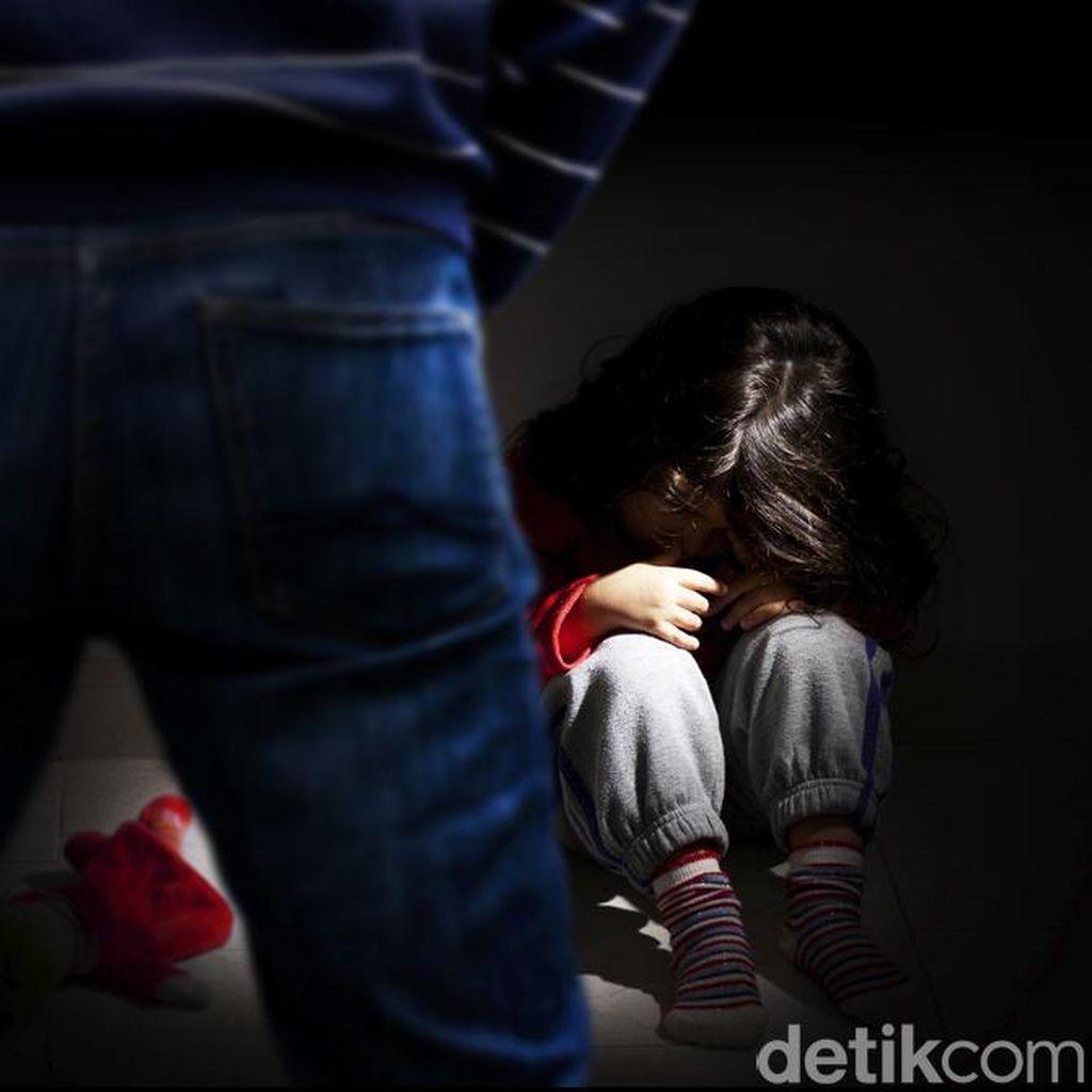Preman Kampung di Sukabumi Hamili Anak Kandung