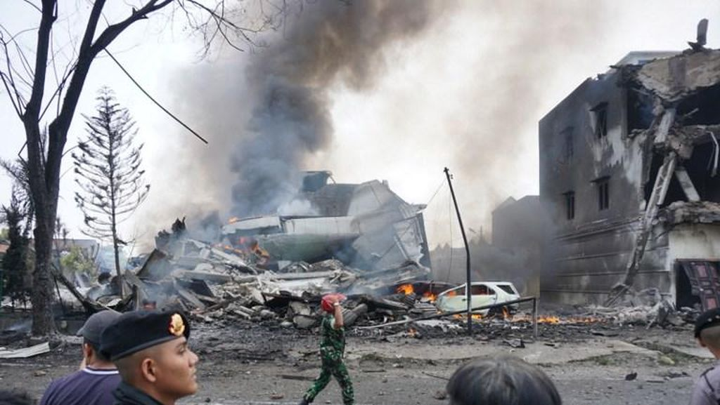Hercules Jatuh 2 Km dari Lokasi Tragedi Mandala Tahun 2005