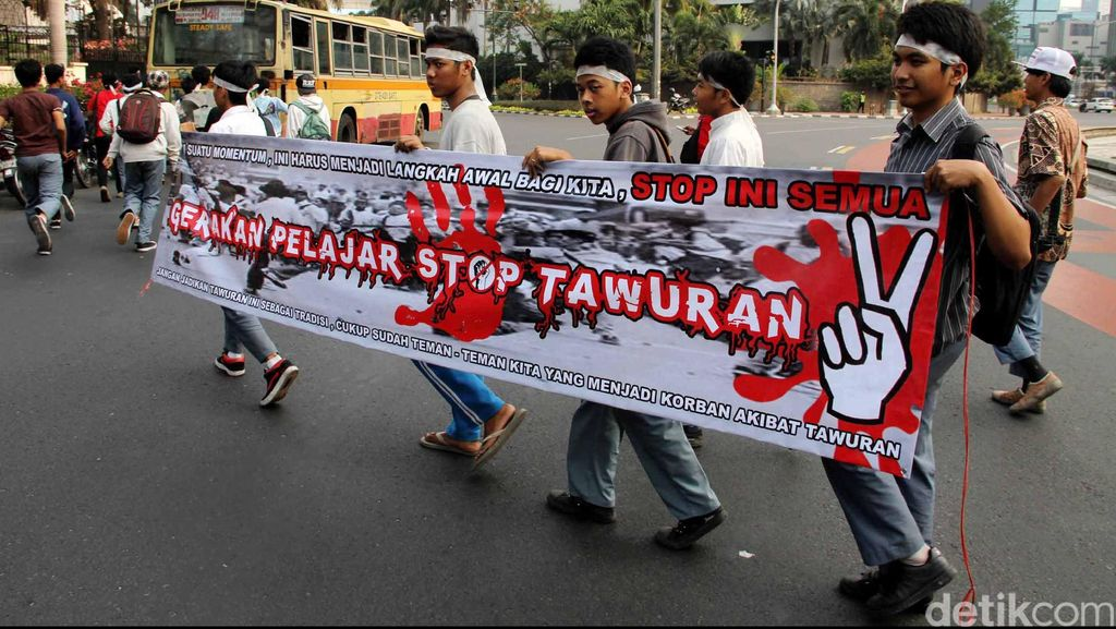 Polisi Bentuk Tim Anti Tawuran Cegah Tawuran di Jakarta Barat