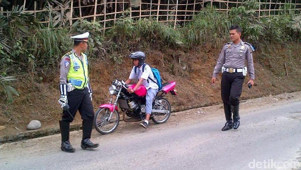 Polisi: Bawa Motor Tak Hanya Sekedar Ngegas Saja
