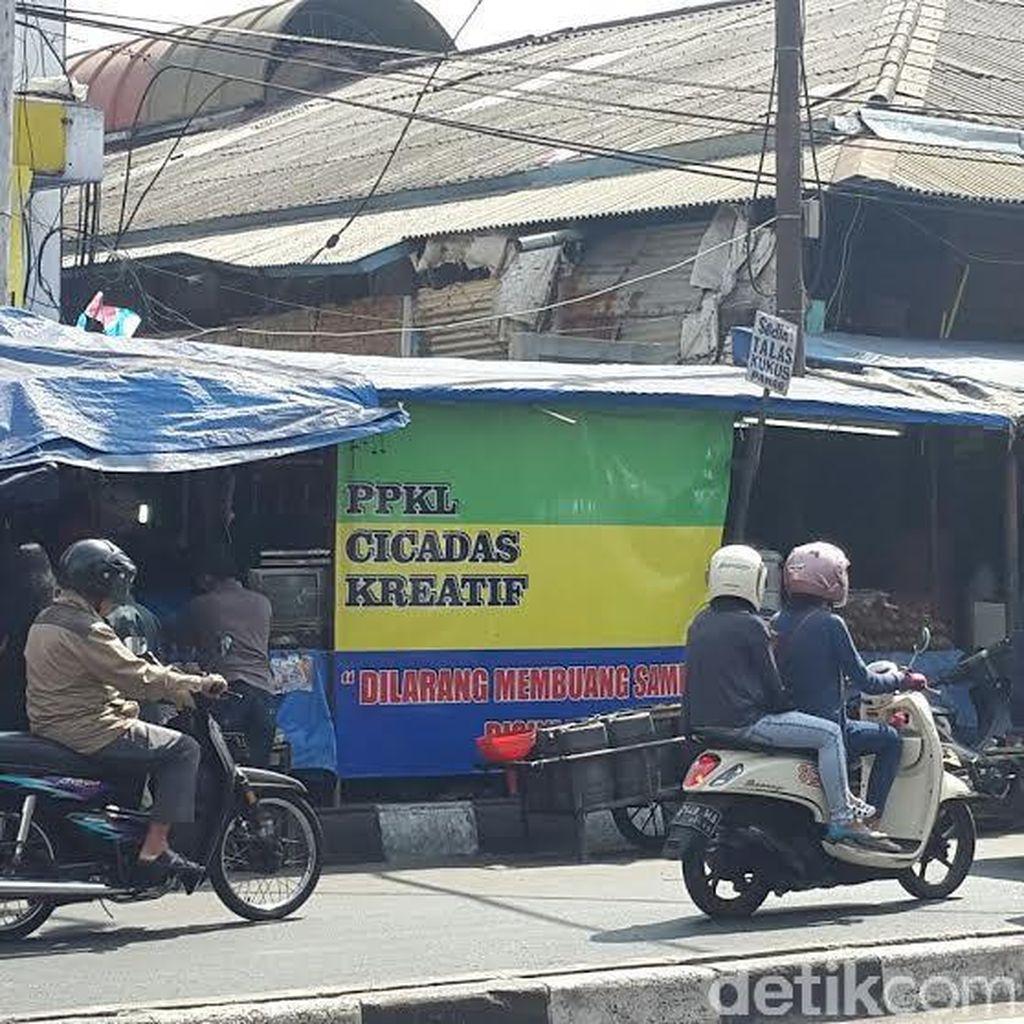 Pemkot Bandung Masih Kewalahan Menata PKL di Tiga Wilayah Ini