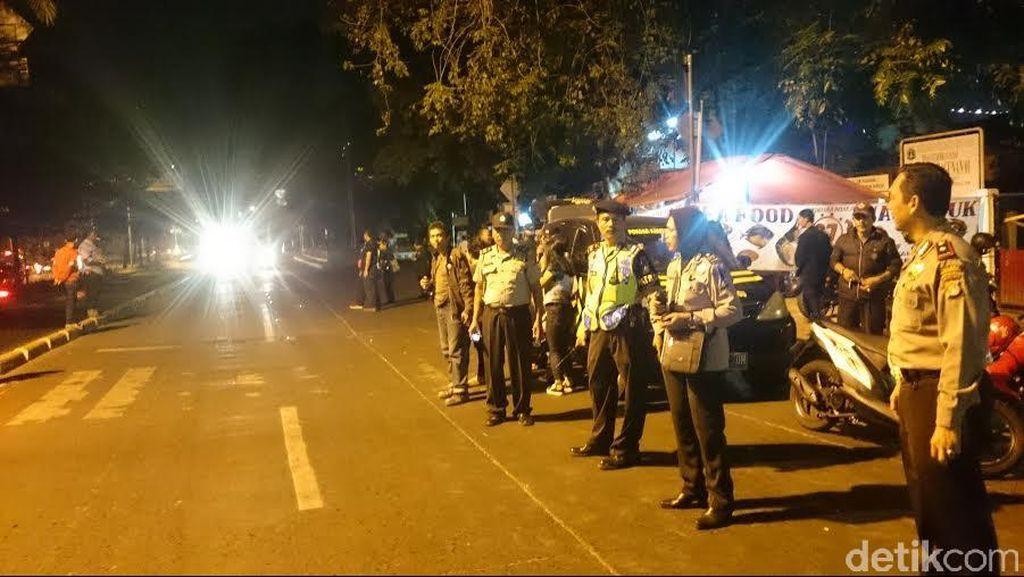 Antisipasi Geng Motor hingga SOTR, Polres Depok Patroli Besar