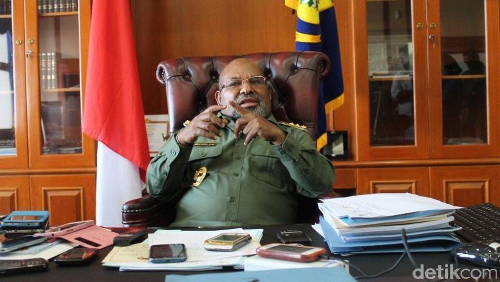 Kata Gubernur Papua soal Rencana Pembangunan Patung Yesus Rp 500 M
