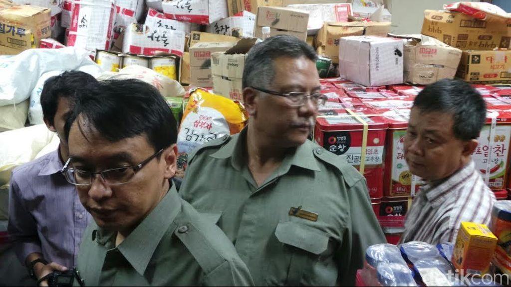 Mengintip Gudang Tempat BPOM Menyimpan Produk Pangan Ilegal