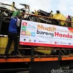 Mudik Pakai Motor Berisiko, Driver Ojek Online Pilih Naik Bus