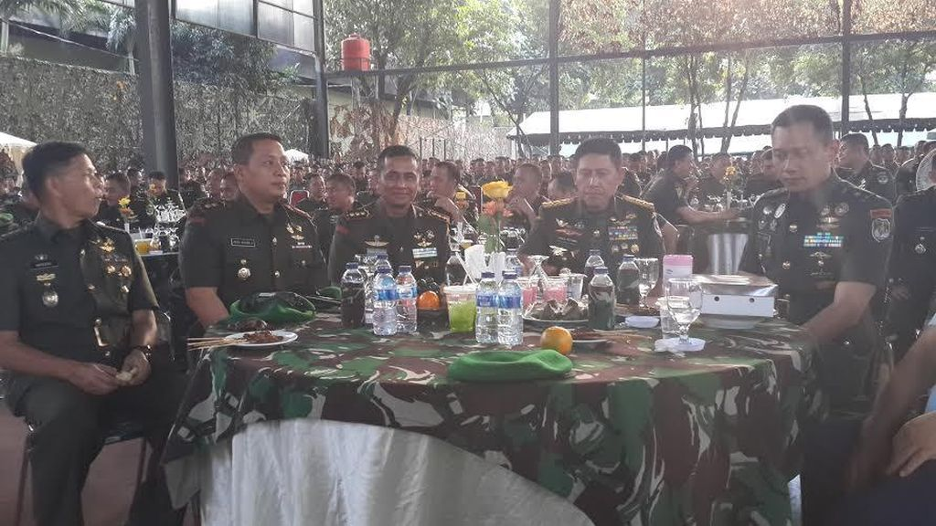 Saat Mayor Agus Yudhoyono Jadi Idola di Kodam Jaya