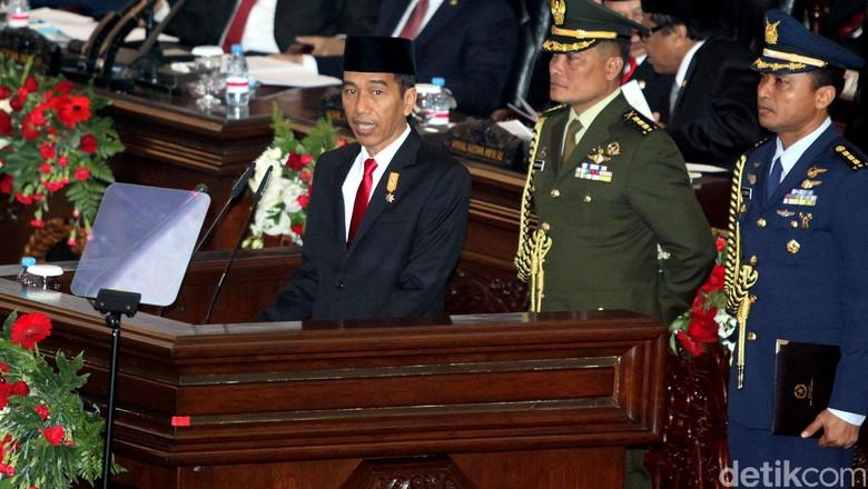 Ini Pidato Kenegaraan Perdana Presiden Jokowi Selengkapnya