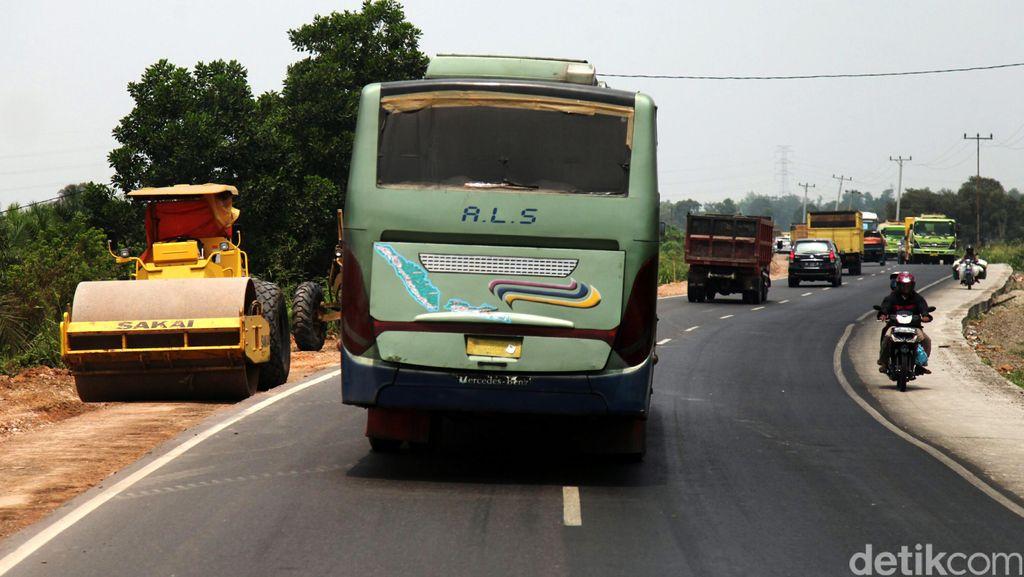 Jalur Lintas Timur Sumatera Siap Dilewati Pemudik